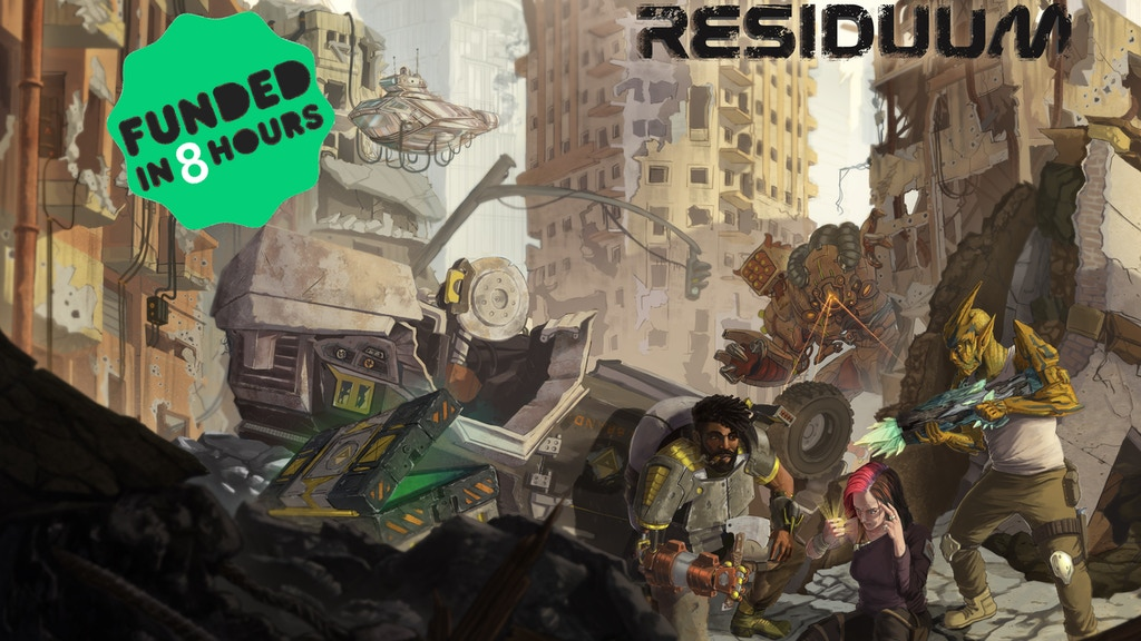 Residuum - A Post-apocalyptic RPG project video thumbnail