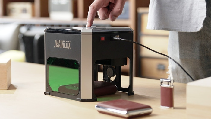 The Most Compact, Powerful and Simple-to-Use Laser Engraver.