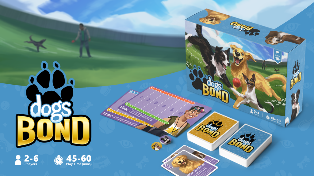 Dogs BOND - The Board Game project video thumbnail