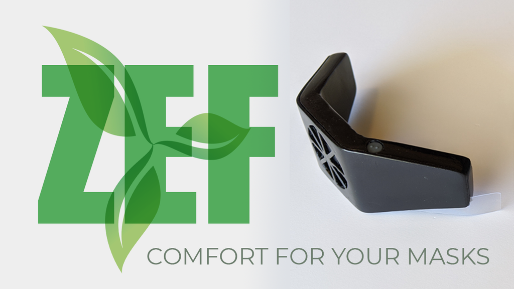 ZEF : Comfort for your disposable masks