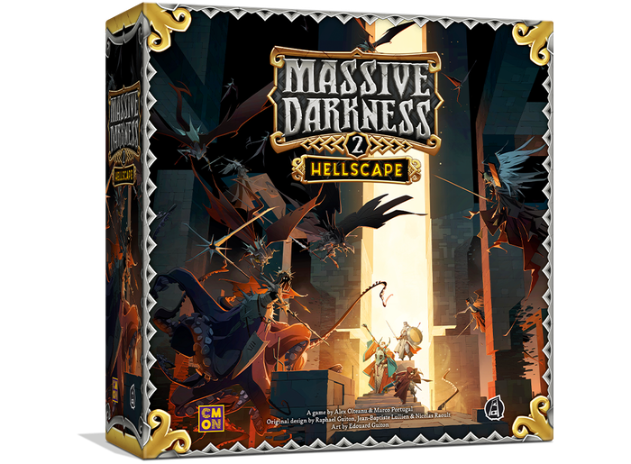 Fight the source of evil in this stand-alone sequel to Massive Darkness, with new art, incredible minis, and revamped gameplay. Available in either English or French!