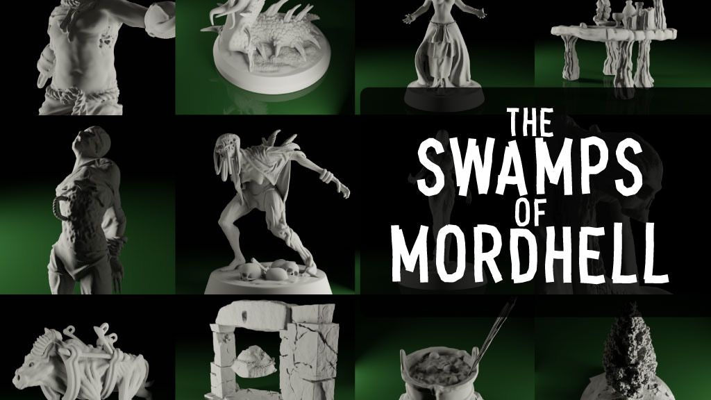 The Swamps of Mordhell (STL) project video thumbnail