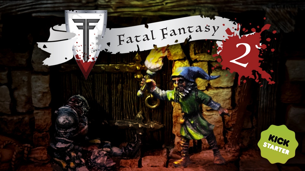 Project image for Fatal Fantasy 2 - More casualty bases for wargaming