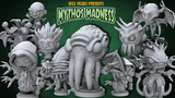 Mythos Madness: Chibi Cthulhu Mythos 3D Printable Miniatures thumbnail
