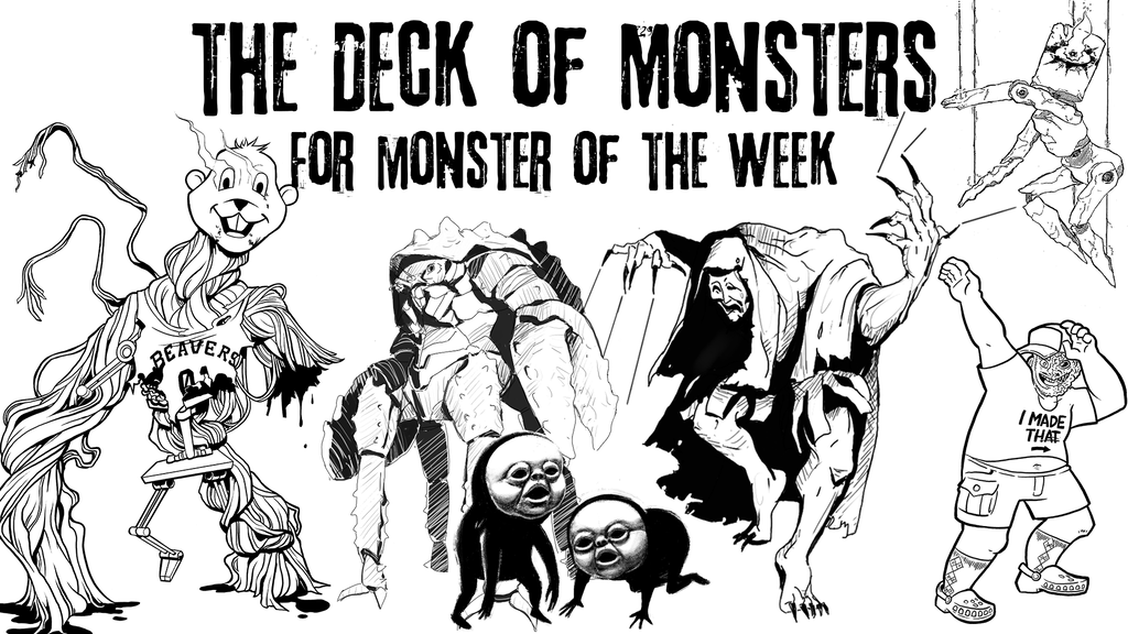 The Deck of Monsters for Monster of the Week project video thumbnail