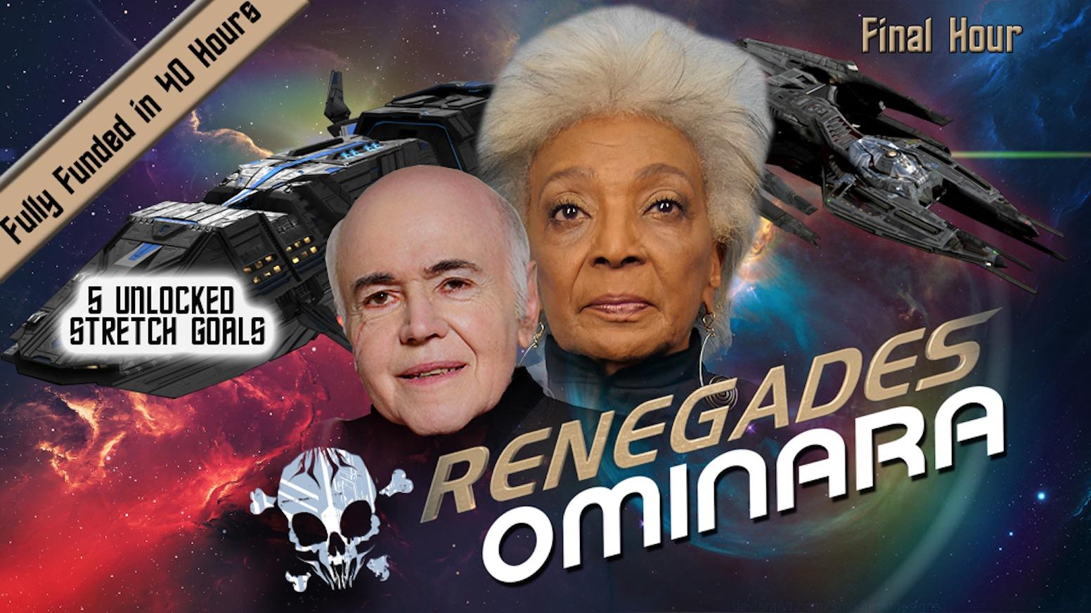 Nichelle Nichols creates her original role of Ominara and does her final scene with legendary Walter Koenig