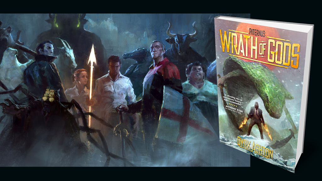 Paternus: Wrath of Gods - Fantasy Novel Hardbacks project video thumbnail