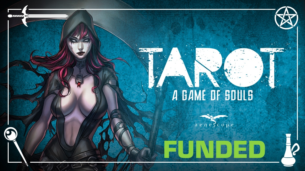 Zenescope's Grimm Fairy Tales TAROT: a Game of Souls project video thumbnail