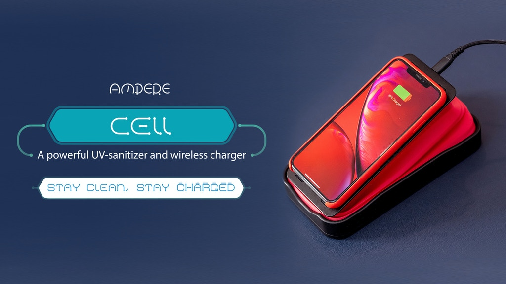 Cell: The Expandable Wireless Charger that Cleans Your Phone project video thumbnail