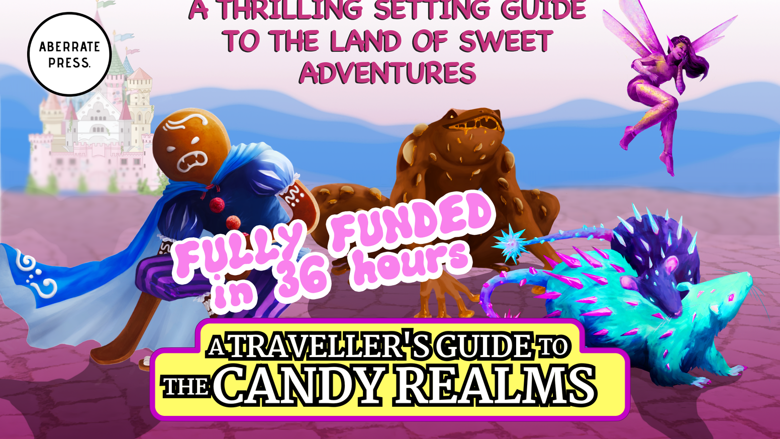 A Thrilling setting guide to the mystical land of sweet adventures. Join us on an adventure into the Candy Realms