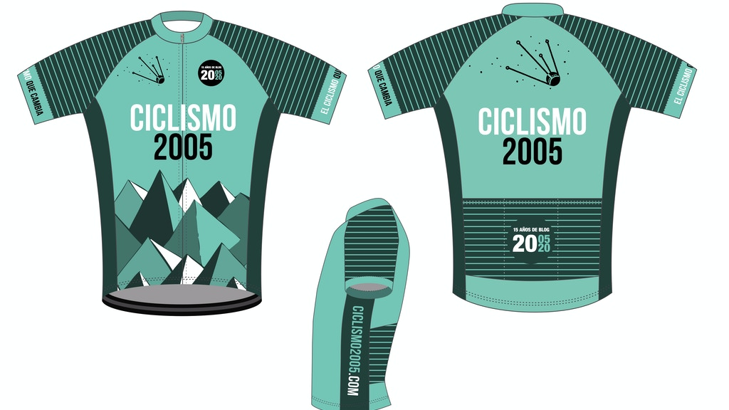 Project image for Maillot Ciclismo2005 15º Aniversario del Blog