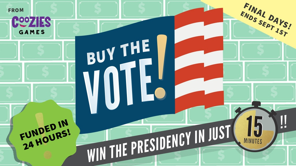 Buy the Vote! Election Board Game project video thumbnail