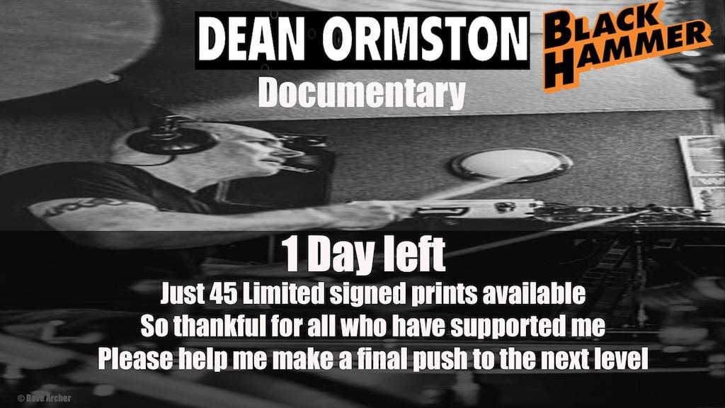 Dean Ormston - Working-class Superhero project video thumbnail