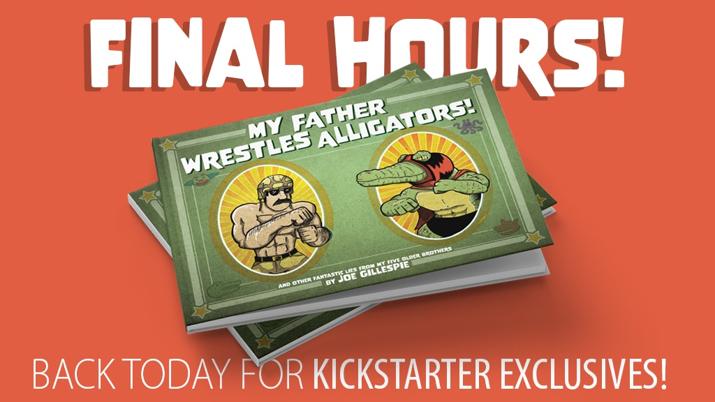 My Father Wrestles Alligators project video thumbnail