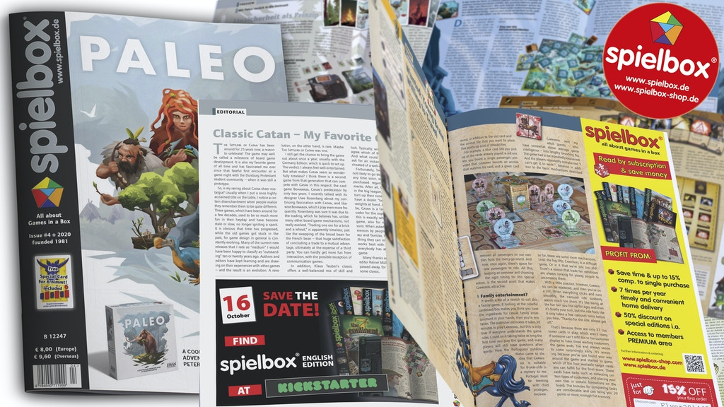 spielbox (english Edition) - Board Game Magazine 2021 project video thumbnail