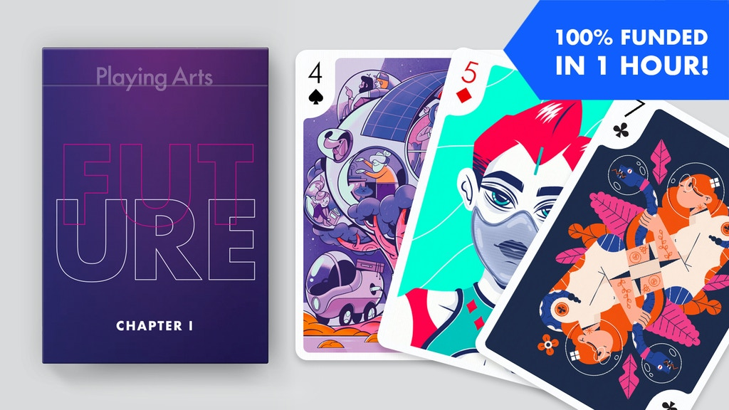 Playing Arts: Artistic Playing Cards Inspired by The Future project video thumbnail