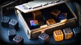 Steampunk Dice with Exclusive box and Dice Tower thumbnail