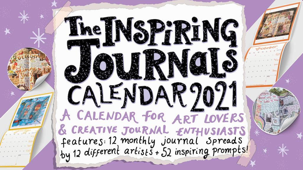 Inspiring Journals Calendar 2021 by Kia Marie Hunt ...