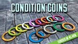 Condition Coins - Metal Status Marker Rings for D&D thumbnail