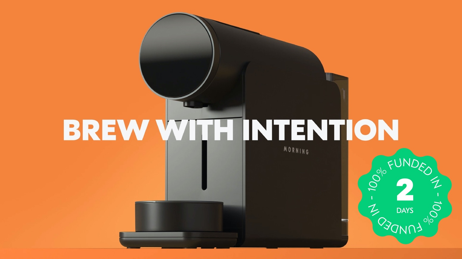 The first coffee capsule machine with barista-approved controls. Compatible with Nespresso® OriginalLine capsules.
