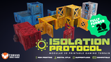 Isolation Protocol: Modular 3D Printable Sci-fi Terrain STL thumbnail