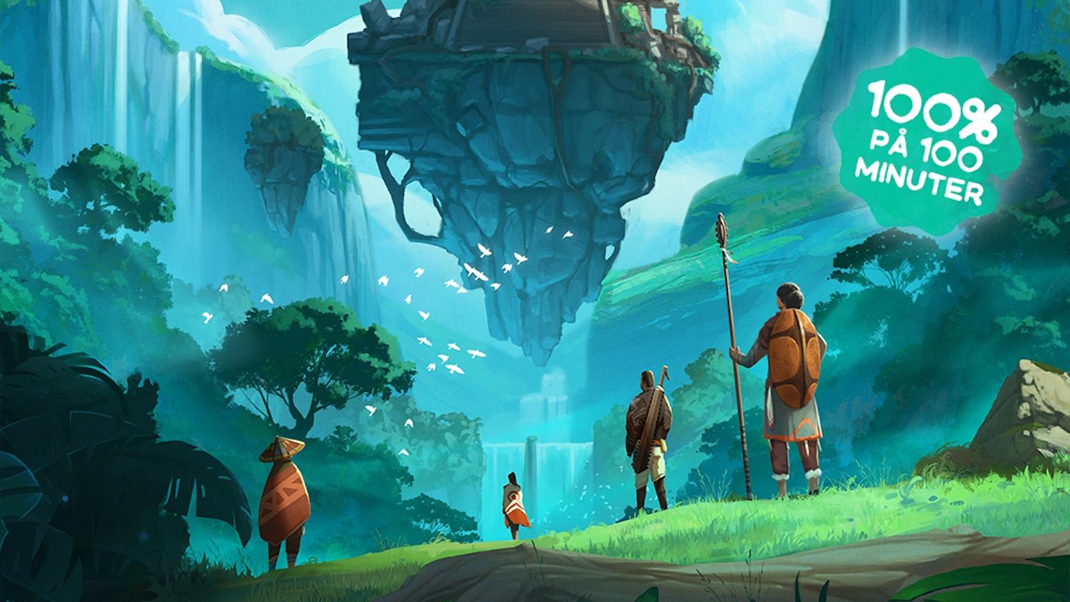 Ett äventyrsrollspel med fokus på frihet, upptäckarglädje och kamratskap – i en optimistisk spelvärld med utomeuropeiska influenser.