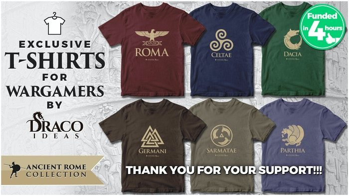 Because every WARGAMER should wear their uniform to battle... T-SHIRTS of your faction!  Show your true colors!