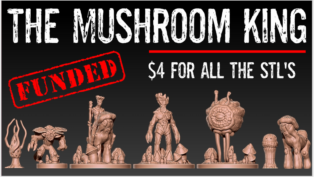 Project image for The Mushroom King
