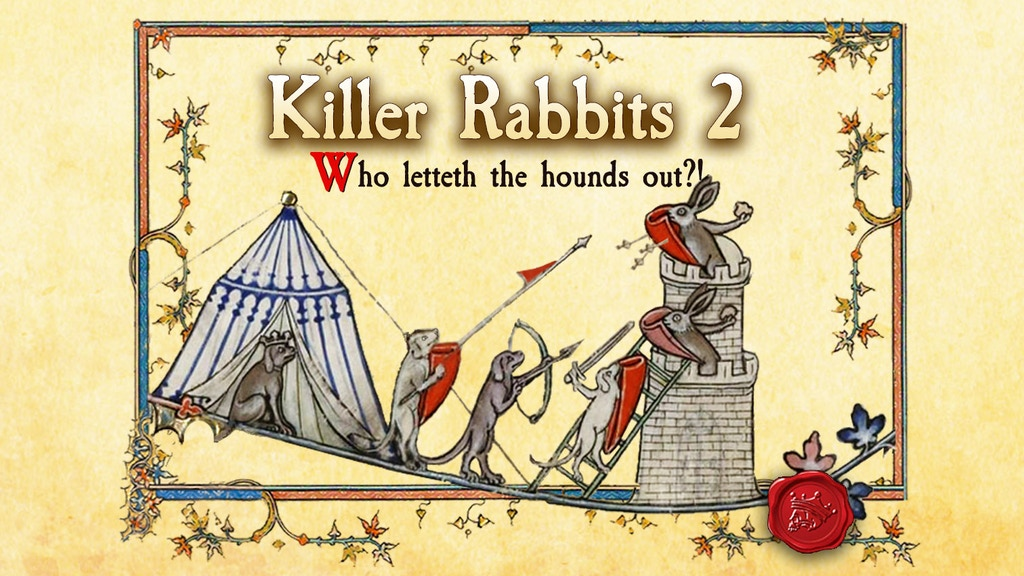 Project image for Killer Rabbits 2: Who letteth the hounds out