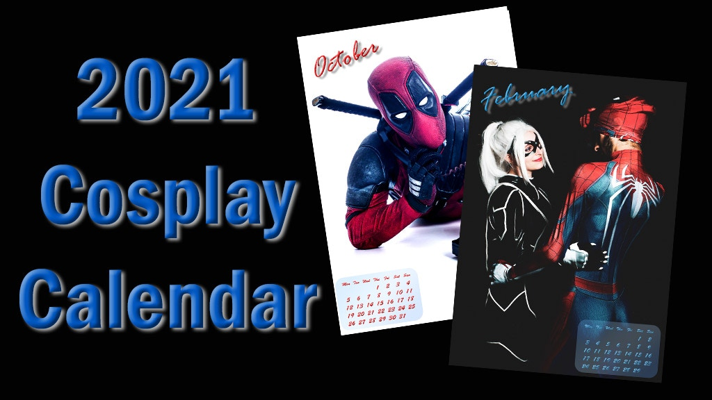 Project image for 2021 Cosplay Calendar