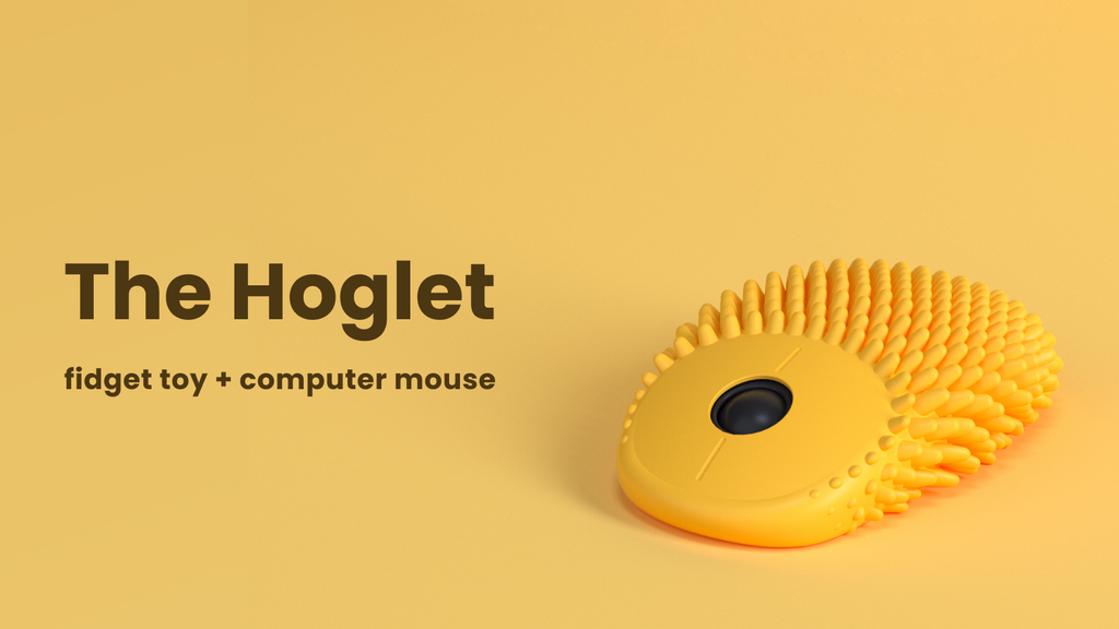The Hoglet: Fidget Toy + Computer Mouse project video thumbnail