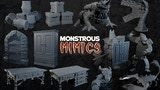 Monstrous Mimics: 3D Printable Miniatures thumbnail
