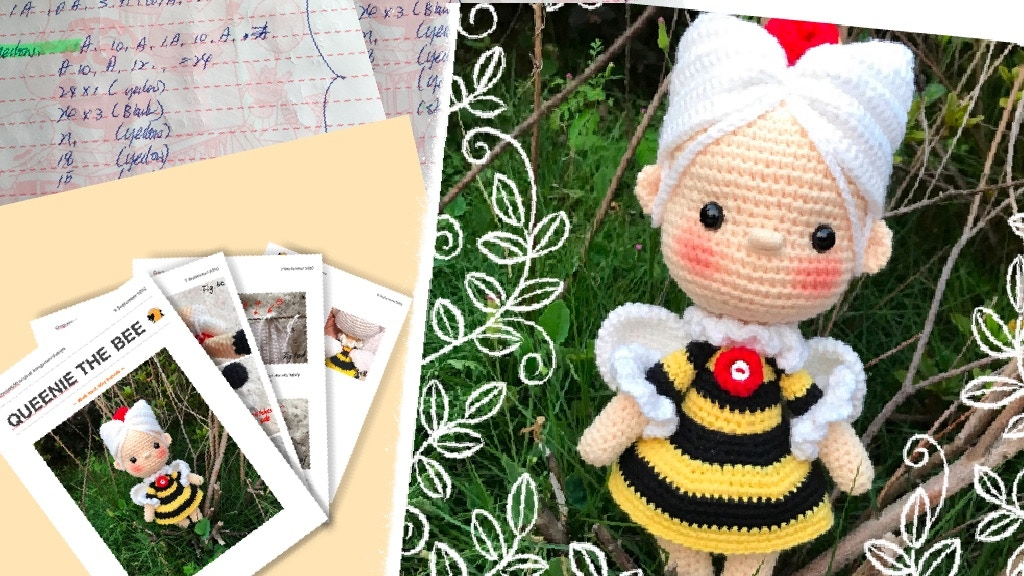 Project image for As Cute As A Bug,10 Amigurumi patterns book