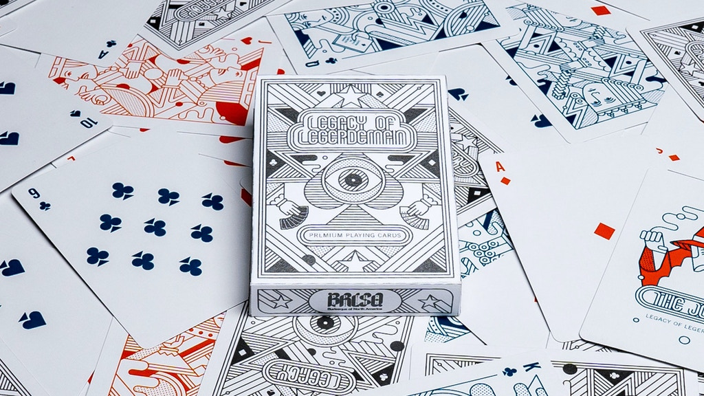 Project image for Legacy Of Legerdemain playing cards