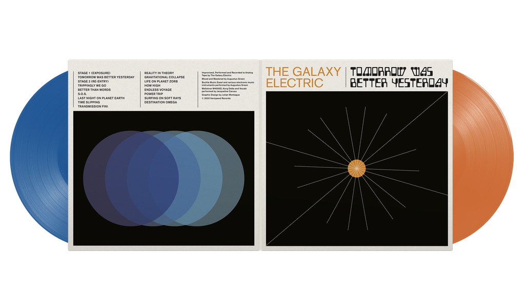 The Galaxy Electric - Retro Sci-Fi Music on Double Vinyl project video thumbnail