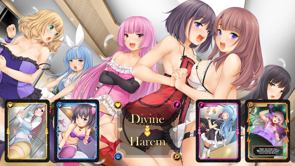 Project image for Divine Harem Card Game