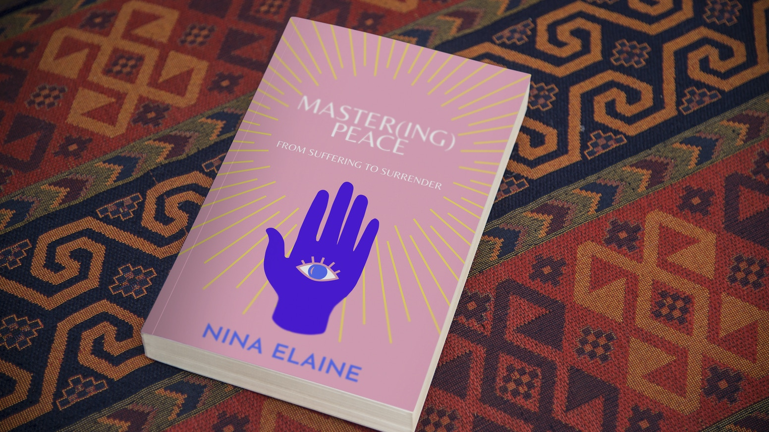 *SALE EXTENDED*Click the link below to pre-order your copy through 11/11! This book serves as a practical guide to healing through self mastery. Master(ing) Peace takes you on a journey of self exploration.
