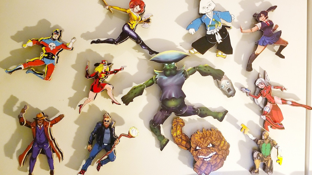 Ultimate Articulated Cardboard Comic Book Action Cut-Outs project video thumbnail