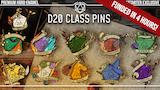 D&D D20 Class Pins thumbnail