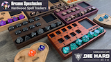 Arcane Spectacles: Hardwood Spell Trackers + Die Hard Dice thumbnail