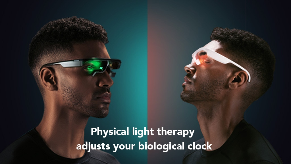 Bioclock | Smart Red and Green Double Light Therapy Glasses project video thumbnail