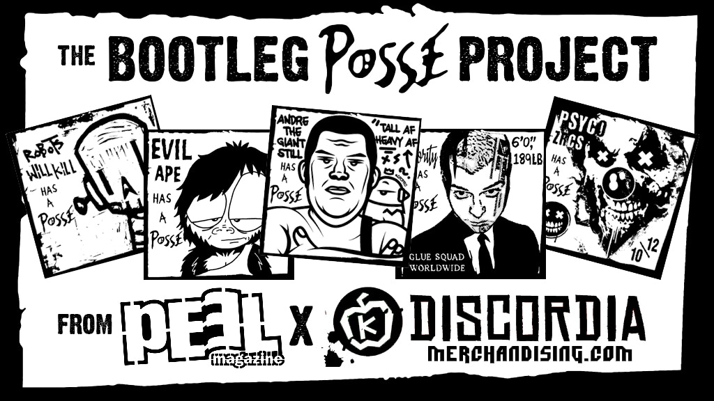 Project image for THE BOOTLEG POSSE PROJECT from PEEL Magazine