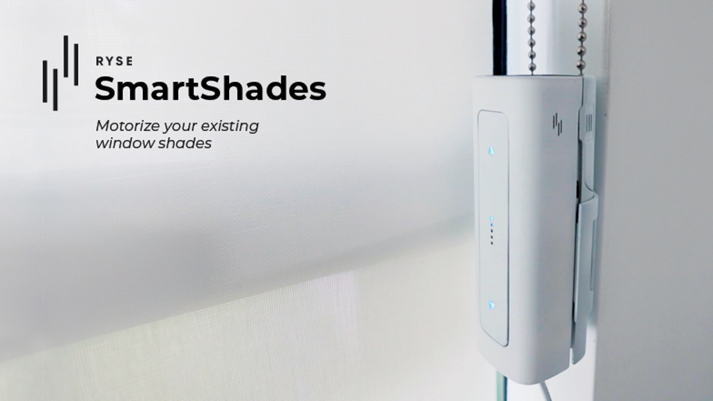 RYSE SmartShades   Motorize your existing window shades project video thumbnail
