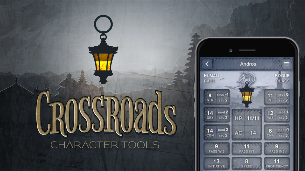 Crossroads: The DnD Character Tools App