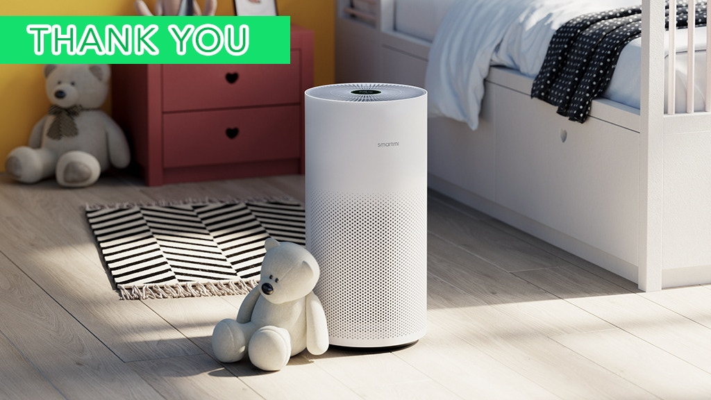 Smartmi Air Purifier, Your Personal Air Guardian. project video thumbnail