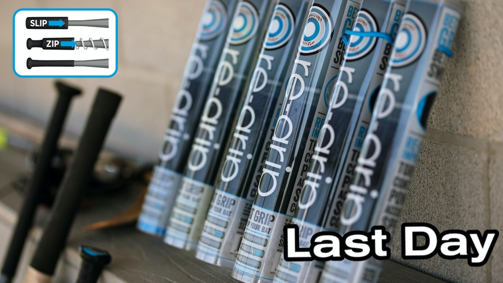The Amazing Re-Grip Baseball Bat Grip! Last Day To Preorder! project video thumbnail