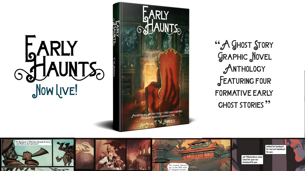 EARLY HAUNTS : A Graphic Novel of Seminal Ghost Stories