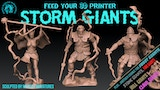 3d printable STORM GIANTS sculpted by Medusa Minis 7 DAYS! thumbnail