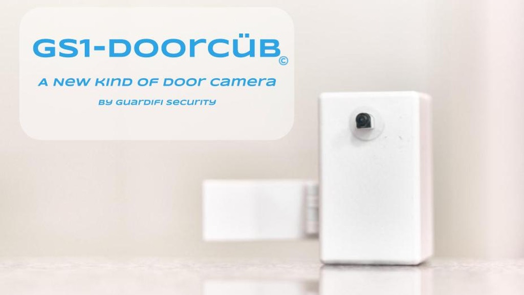 The GS1-DoorCüb A New Kind Of Door Camera. project video thumbnail