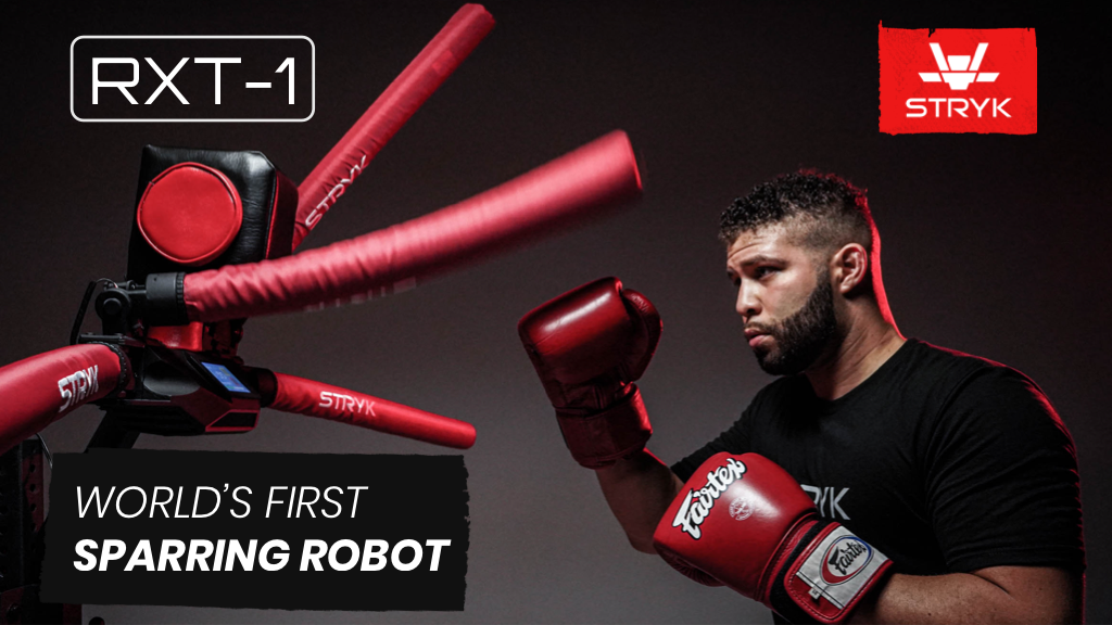 In-Home MMA Striking & Agility Trainer: The RXT-1 Robot project video thumbnail